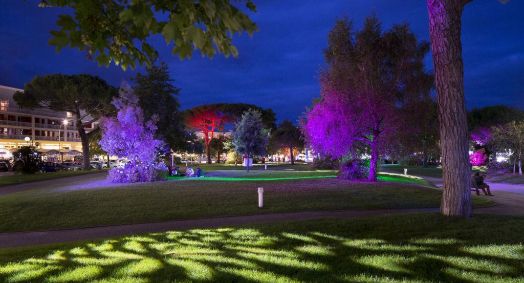 Jardins de la mer à Royan - Client : Philips Lighting