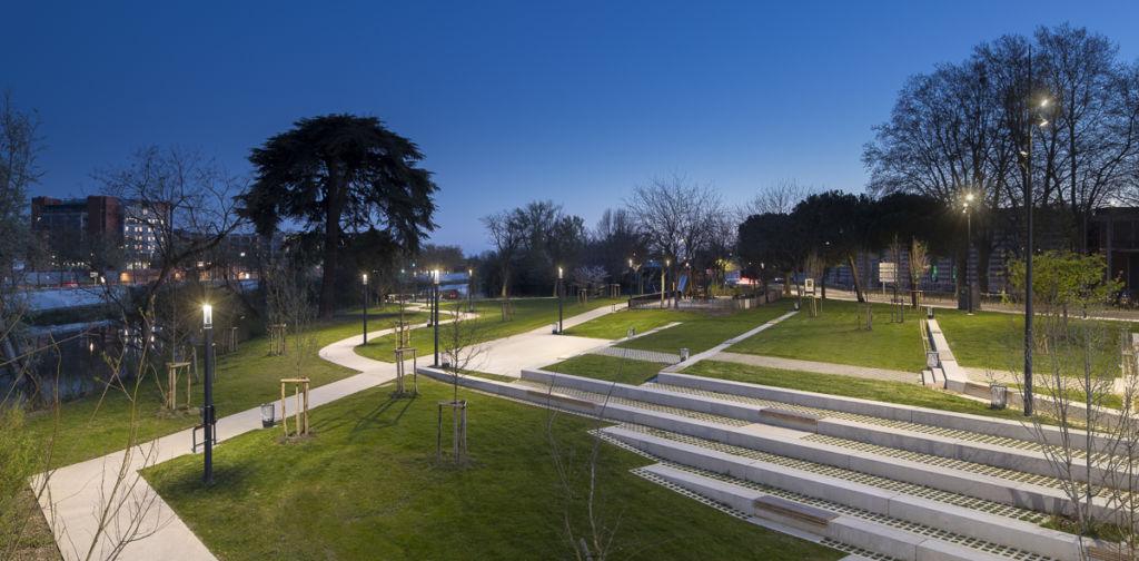 Parc du Ramier à Toulouse - Client : Comatelec