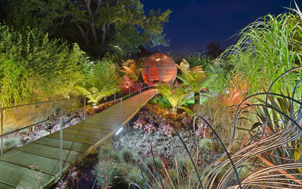 Festival des Jardins à Chaumont sur Loire - Client : Citeos / Philps Lighting - Concepteur Lumière : Lyum