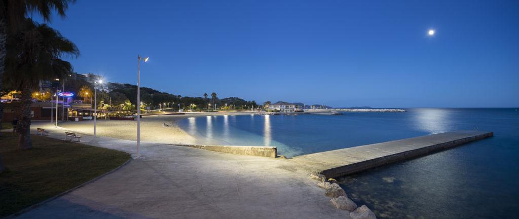 Plage du Mourillon à Toulon - Client : Citeos