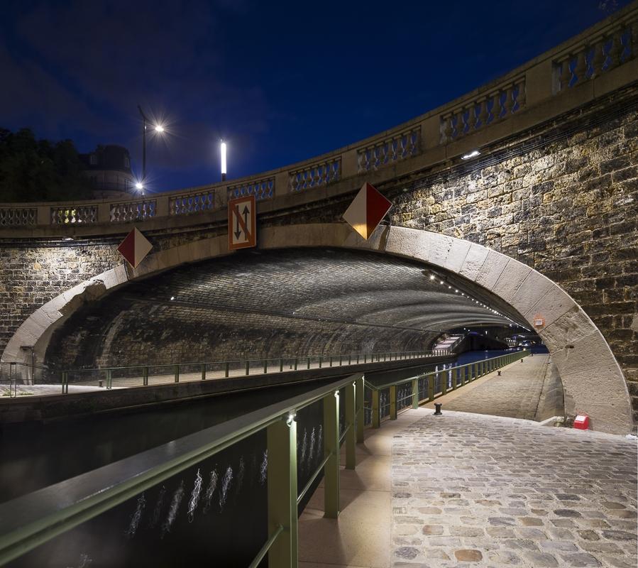 Quai de Charente à Paris - Client : Citeos