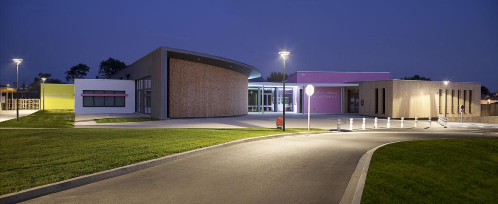 Ecole Lucie Aubrac à  Challans - Client : Philips Lighting