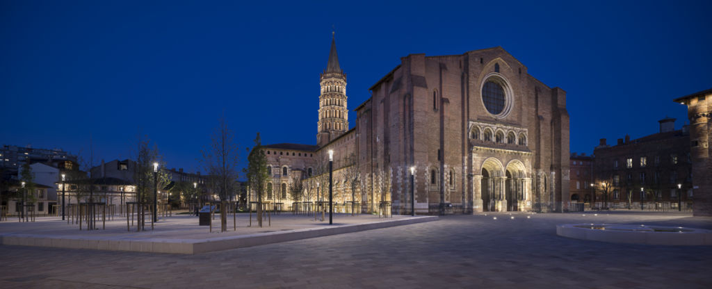 Basilique Saint Sernin à Toulouse - Client : Concepteur lumière : Les Eclairagistes Associés