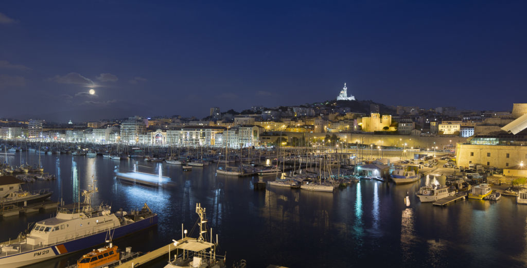 Vieux Port de Marseille - Client : Philips Lighting