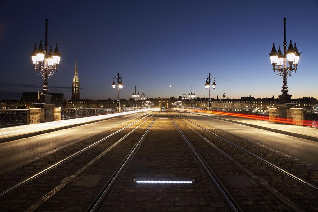 Pont de Pierre à Bordeaux - Client : Cegelec et Lec