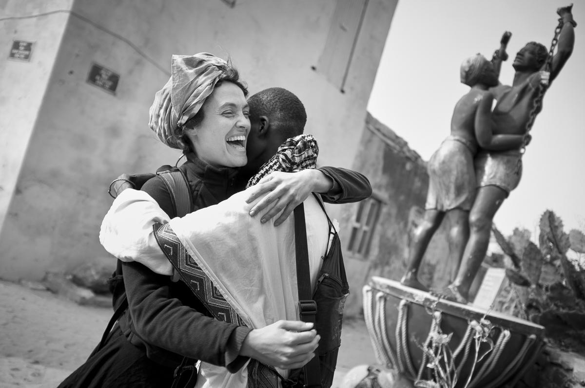 La réconciliation, ile de Gorée, Sénégal