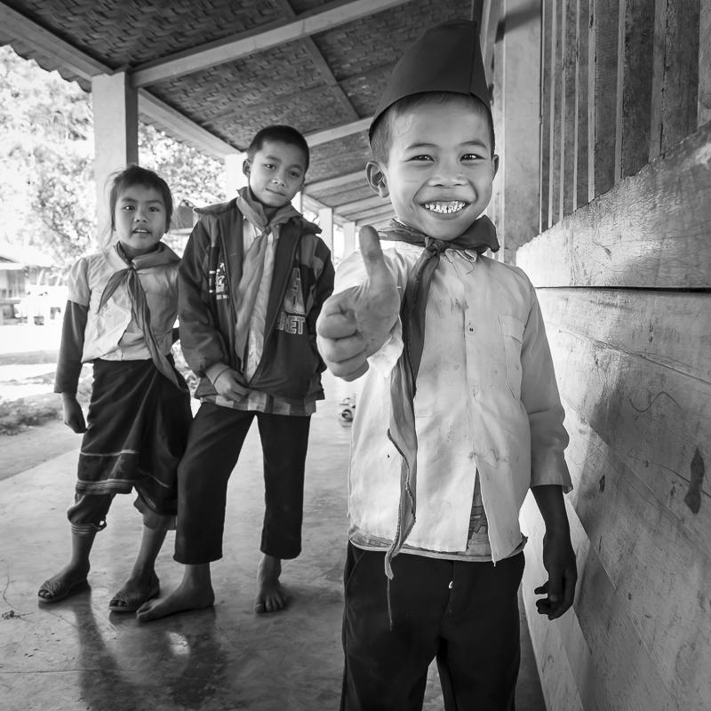 Dans une école primaire de brousse