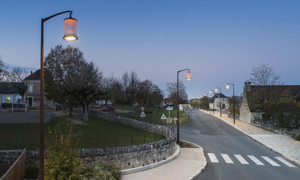 Projet d'aménagement de la Corniche de Rocamadour - Client : Comatelec
