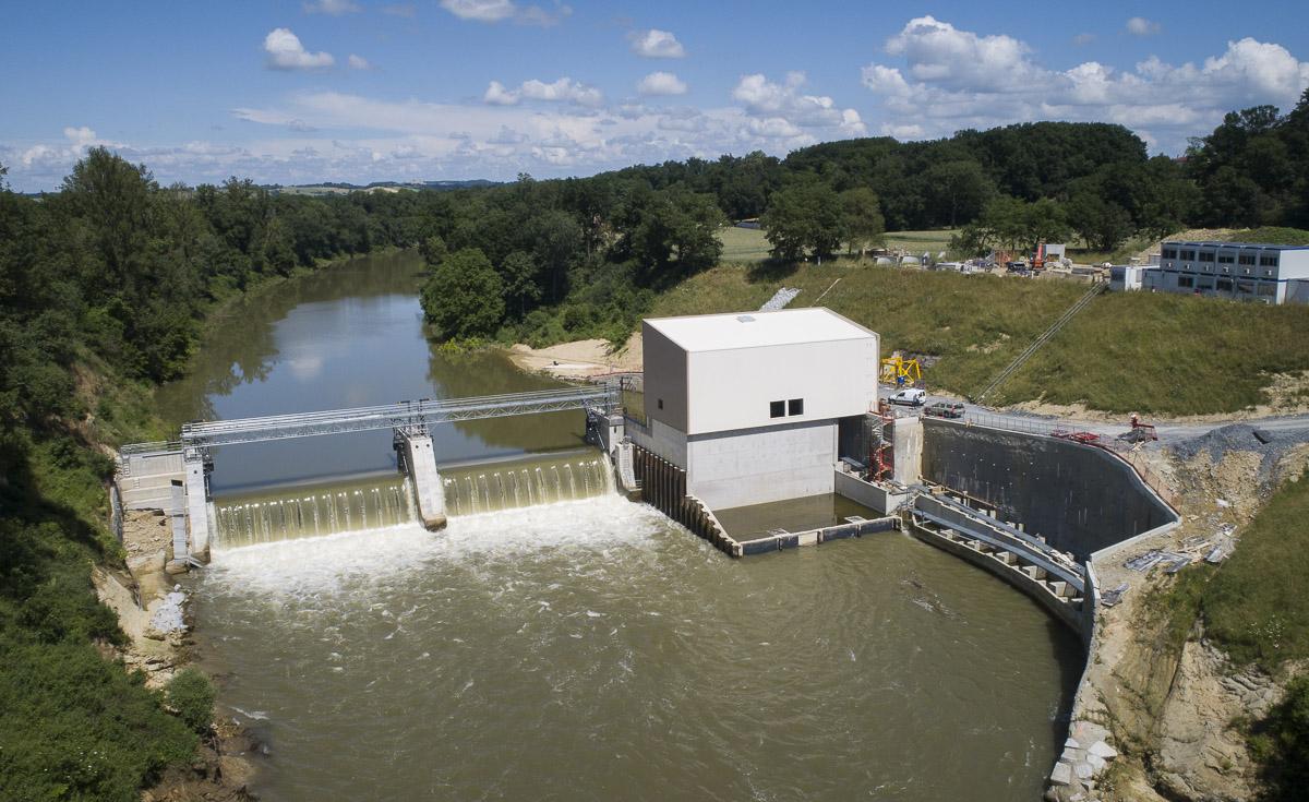 Reportage centrale Hydro-electrique de Lavaur - Client : Actemium