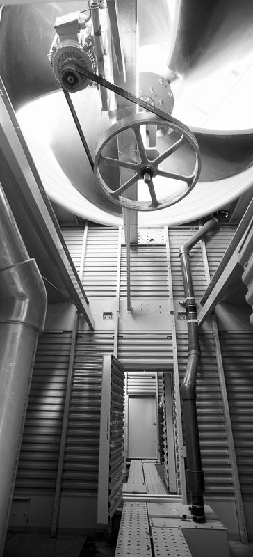 Ventilateur tour de refroidissement de l'Odysseum de Montpellier - Client : Spie