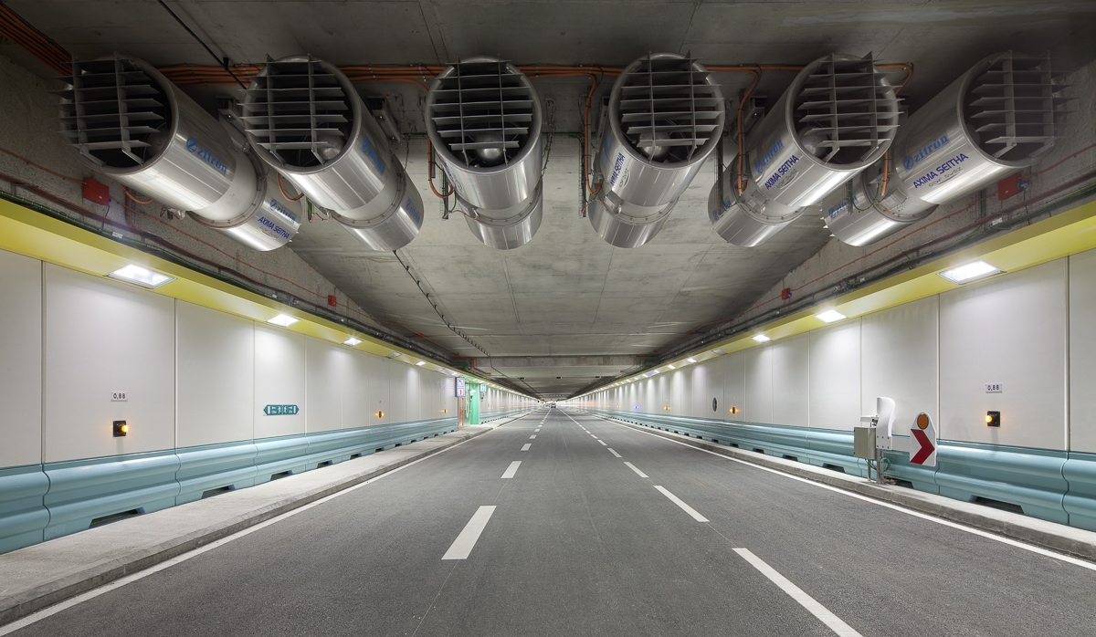 Ventilation tunnel de La Joliette à Marseille - Client : Spie