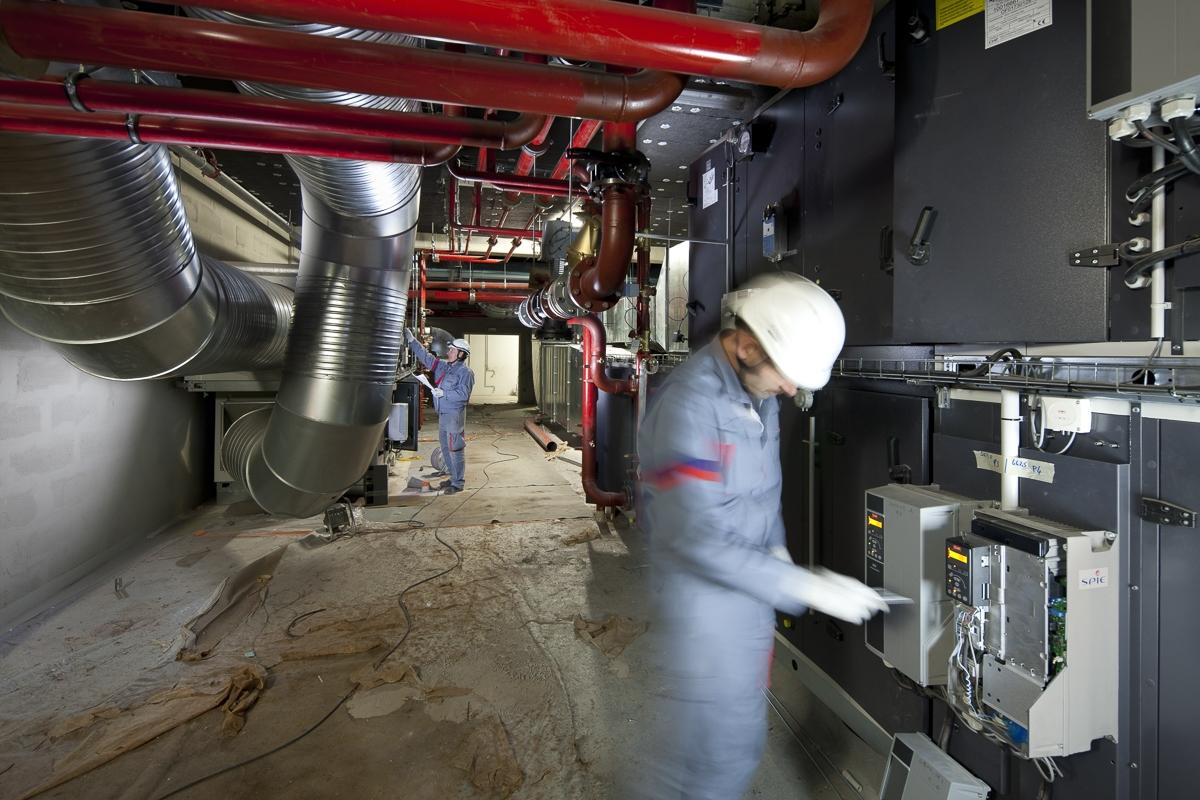 Génie climatique Hôpital Purpan à Toulouse - Client : Spie