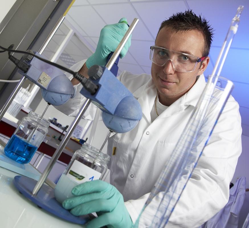 Laboratoire de recherche - Client : Agronutrition