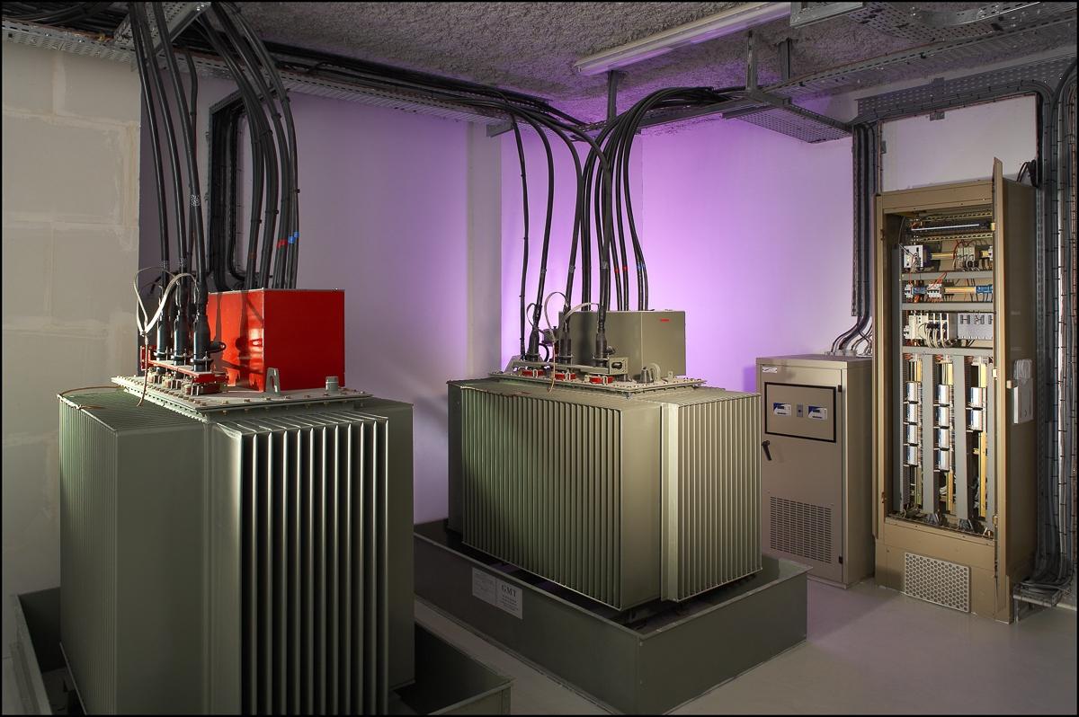Poste de transformation Clinique Sarrus - Client : Vinci Energies