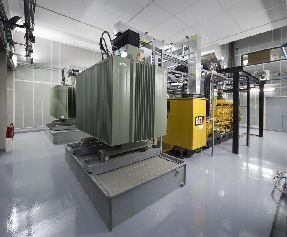 Groupes electrogènes, hôpital de Rangueil à Toulouse - Client : Cegelec