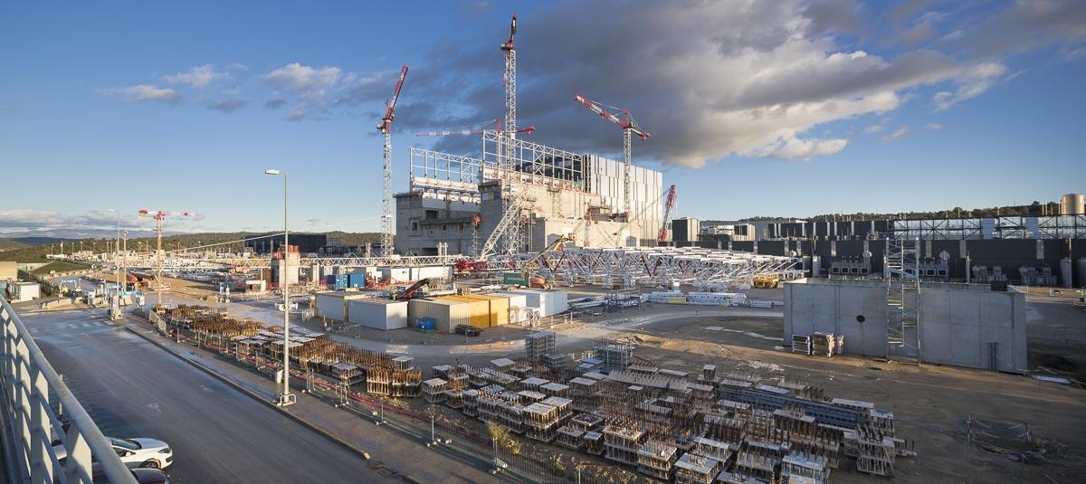 Reportage activités Cegelec CEM sur le chantier ITER à Cadarache