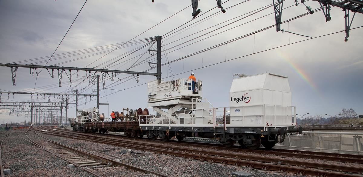 Reportage chantier Ferroviaire à Bordeaux (Gare Saint Jean) pour Cegelec