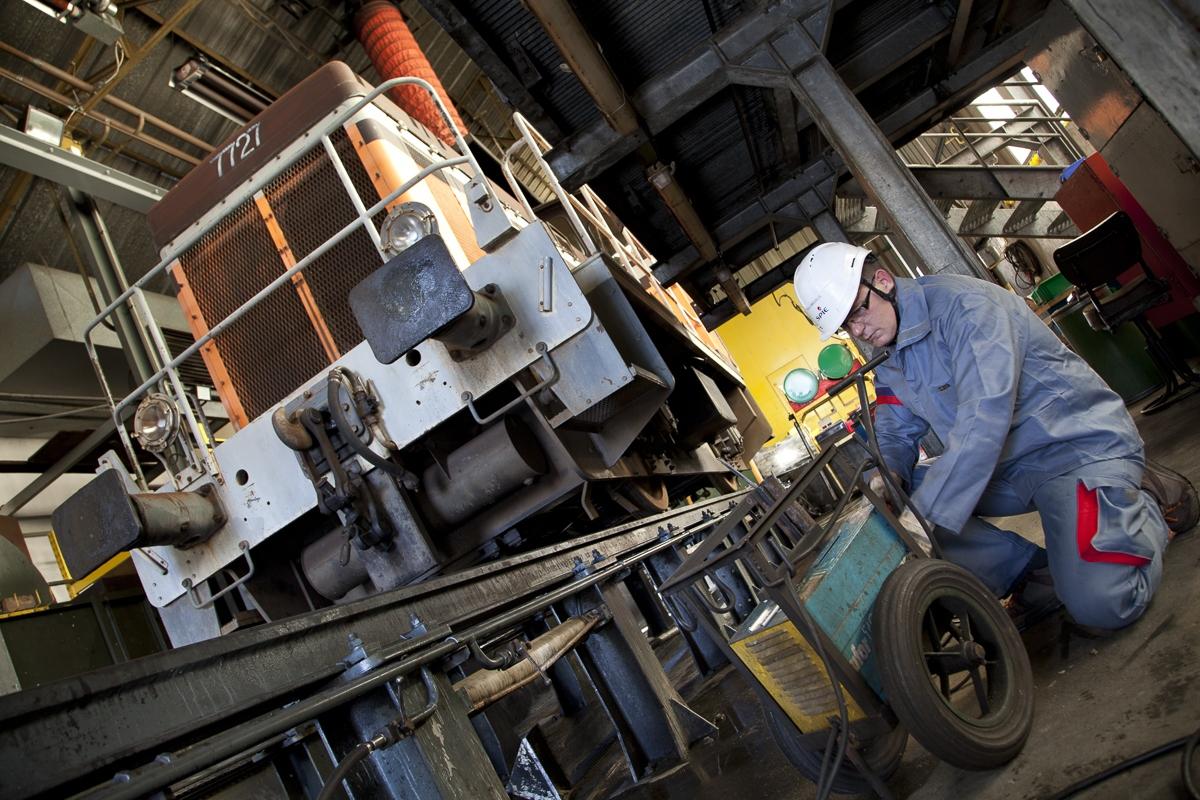 Maintenance des outillages industriels à la SNCF de Beziers - Client : Spie