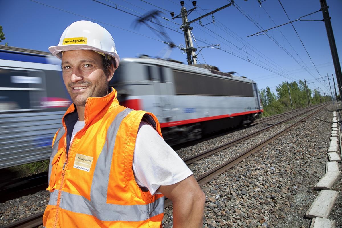 Activité ferroviaire - Client : Spie Batignolles Energies