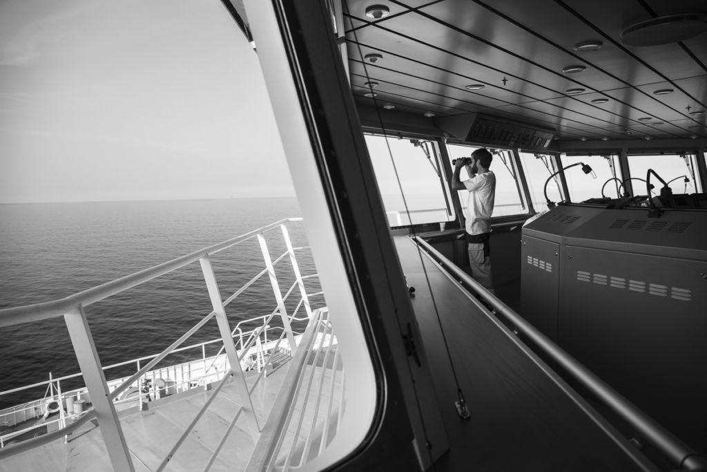 Portraits équipage à bord du Girolata et du Piana pour La Meridionale