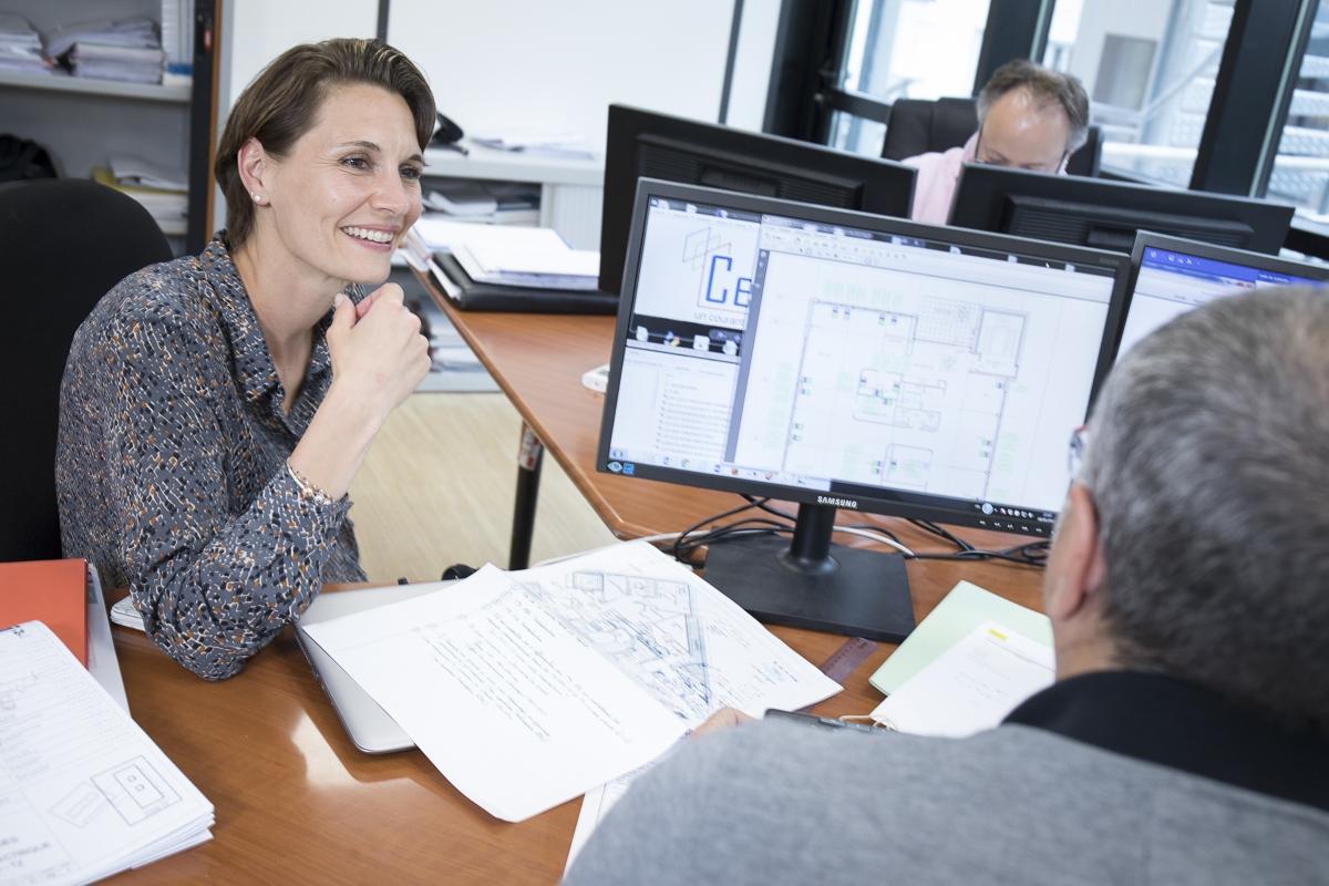 Reportage activités CESA et portraits en entreprise