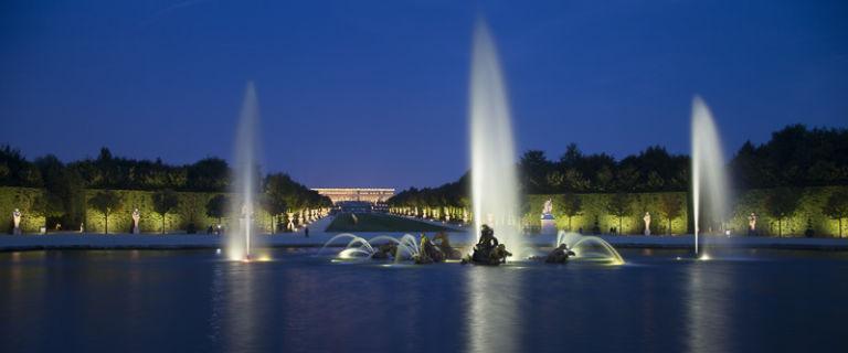 Reportage éclairage des jardins du chateau de Versailles - Client : Chateau de Versailles spectacles, Concetion lumière LEA