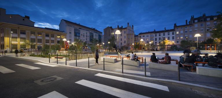 Place Mazagran à Lyon