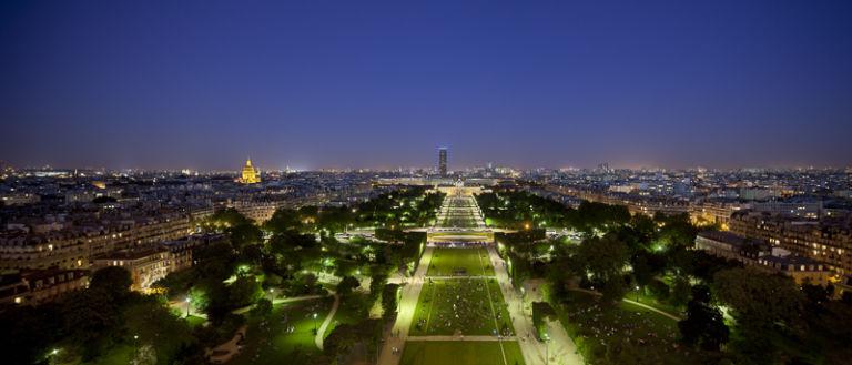 Champs de Mars à Paris